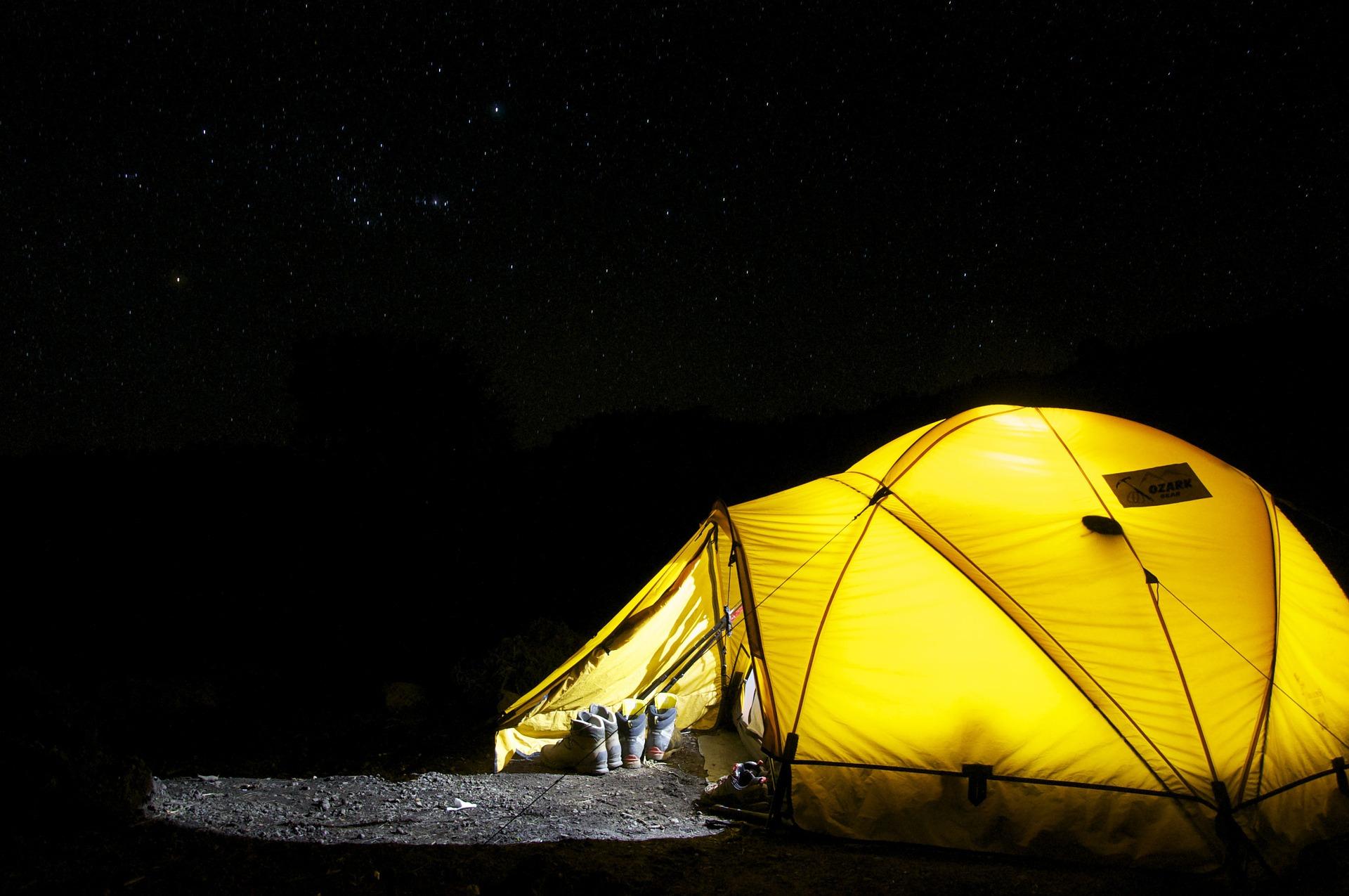 Zakup namiotu. Nie lada wyzwanie